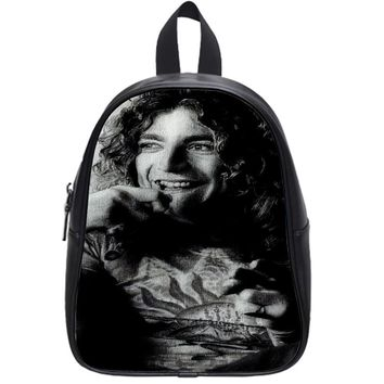 Led Zeppelin Robert Plant School Backpack Medium