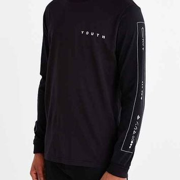 Youth Machine Wireless Long-Sleeve Tee- Black