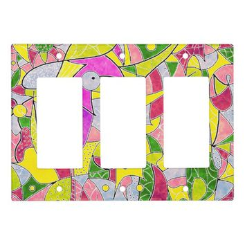 Color Jungle Light Switch Cover