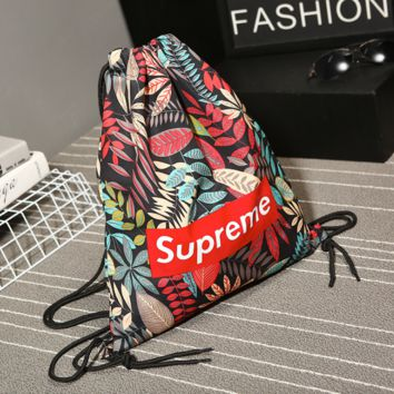 SUPREME Canvas Storage Bag Pouch