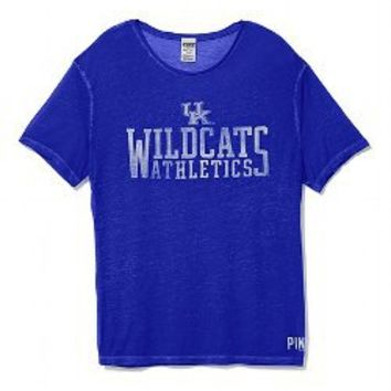 University of Kentucky Vintage Crewneck Tee - PINK - Victoria's Secret
