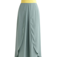 Breezy Being Green Skirt | Mod Retro Vintage Skirts | ModCloth.com