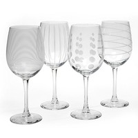 Mikasa Cheers 4-pc. White Wine Glasses