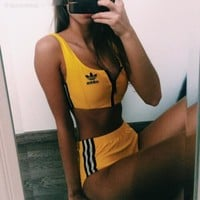 Adidas Originals Jeremy Scott NYC Taxi Bikini Swimsuit