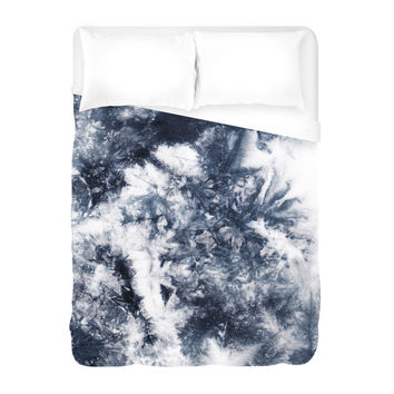 Everything is Black and White Duvet Cover