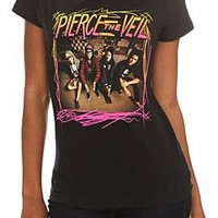 Pierce The Veil Sitting Girls T-Shirt - 142387