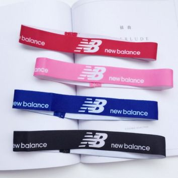 One-nice™ New Balance Sports Casual Letter Simple Hair Band Of Yoga And Fitness Headband Headband With Headbands
