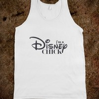 Disney Chick (Tank) - hopealittle tee's
