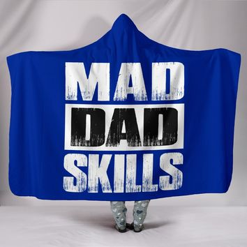 NP Mad Dad Skills Hooded Blanket
