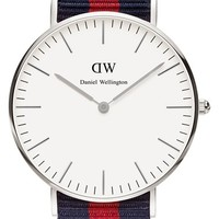 Daniel Wellington 'Classic Oxford' NATO Strap Watch, 36mm