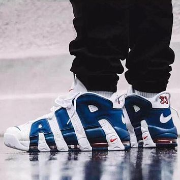 Nike Air More Uptempo New Fashion Letter Hook Sports Leisure Shoes