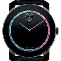 Movado 'Bold' Crystal Spectrum Watch, 42mm