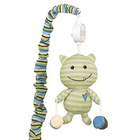 CoCaLo Baby Peek A Boo Monsters Musical Mobile (Green)
