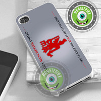 Glory Manchester United - iPhone 4/4s/5/5S/5C Case - Samsung Galaxy S2/S3/S4 Case - Black or White