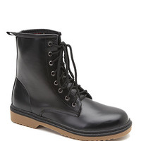 Black Poppy Plaid Lined Boots at PacSun.com