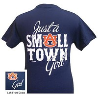 Auburn Tigers War Eagle Just A Small Town Girl Bright T Shirt