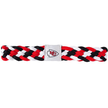 Kansas City Chiefs NFL Braided Head Band 6 Braid