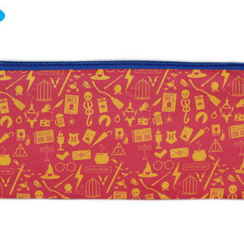 NEW Harry Potter Pencil Case | Pencil Pouch | Zipper Bag | Makeup Bag