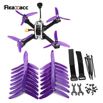 Realacc Real5 215MM FPV Racing Drone PNP With F4 25/200/600mW VTX 800TVL Camera RC Model Multicopter VS Eachine X220S X220