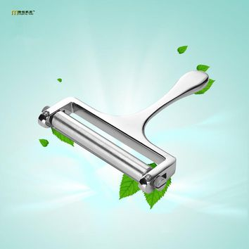 1PC Zinc Alloy Adjustable Cheese Slicer Cutter Cheese Slicers Knife Butter Grater Wire Home Kitchen Baking Cooking Tools OK 0513