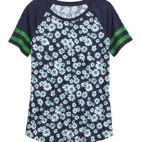 DAISY FOOTBALL TEE | GIRLS CLOTHES NEW ARRIVALS | SHOP JUSTICE