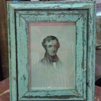 Custom Reclaimed Antique Wood Frames