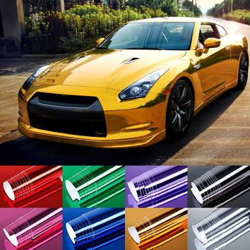 60x152cm High polymer PVC Film Car Stickers Waterproof Car Styling Vinyl Wrap For Auto Vehicle Car accessories Motorcycle BE