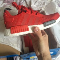 Adidas NMD R1 Runner Red Size US 10 New Condition With Tags
