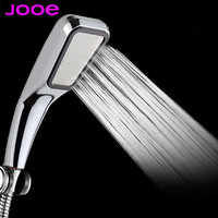 JOOE Water Saving Shower Head 300 hole Pressurized ABS With Chrome Plated Bathroom Hand Shower Water Booster Showerhead