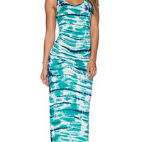 Young, Fabulous & Broke Hamptons Maxi Dress in Green
