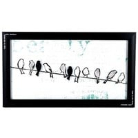 Black & White Birds on a Wire Framed Wall Art | Shop Hobby Lobby
