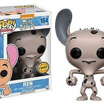 Ren and Stimpy Cartoon Ren Pop! Vinyl Figure CHASE VARIANT