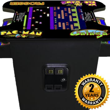 Commercial Ms Pacman Galaga Pac Man Arcade Game Table Machine -Black