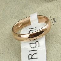 18K Gold/Silver Plated Women's Men Ring Jewelry Band Promise Love Engagement