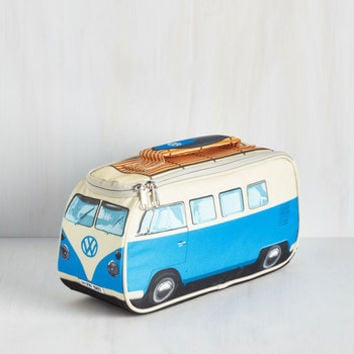 Vintage Inspired Groovy Getaway Lunch Bag by ModCloth