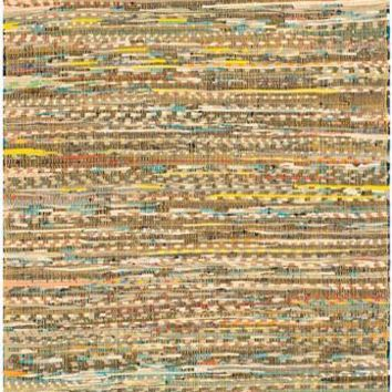 Safavieh Rag Rug RAR121H Yellow / Multi Rug