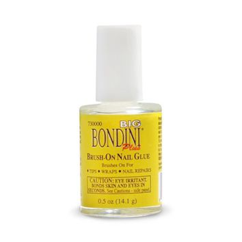 BIG BONDINI Brush on Nail Glue 0.5oz/14.1g - Walmart.com