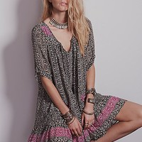Free People Womens Penny Lane Chiffon Dress