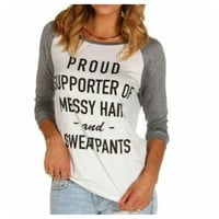 Proud Supporter Baseball Tee