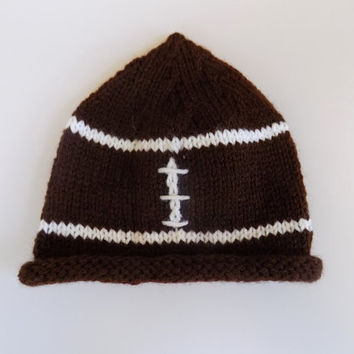 Football Hat, Baby Football Beanie, Sports Hat