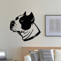 Wall Decal Vinyl Sticker Dog Animal Pet Grooming Salon Decor Sb765