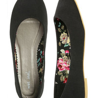 Jersey Skimmer Flat - Teen Clothing by Wet Seal