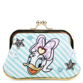 Beauty Ticks Irregular Choice Mickey Mouse & Friends Collection Women's So Pretty Mint Coin Purse