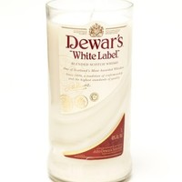 (1) Dewars® Tall 18 oz Candle With Wick - Bottle Heaven
