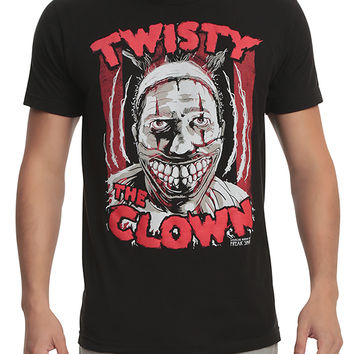 American Horror Story: Freak Show Twisty The Clown T-Shirt