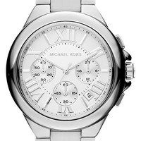 Women's Michael Kors 'Camille' Chronograph Bracelet Watch