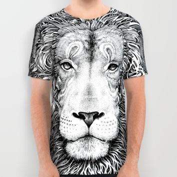 king of the jungle All Over Print Shirt by Sarachnid