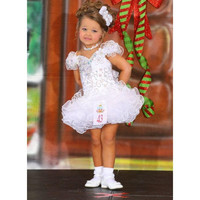 2016 Luxury Little Girls Pageant Dresses Princcess Sequins Beads Short White Flower Girls Dresses Custom Made