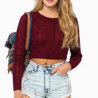 Amy Cropped Sweater
