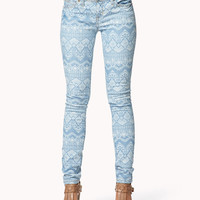 Life In Progress™ Southwestern Skinny Jeans